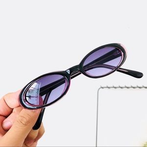 Deadstock 90s Slim Oval Sunglasses